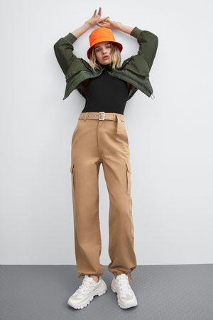 Zara Pantalon large battle