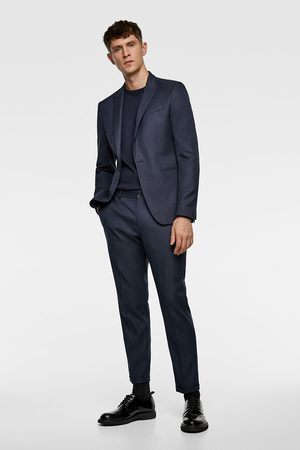 Zara Pantalon de costume structuré court
