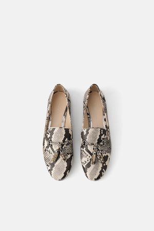 Achetez Et Zara Femme Avec Pompons Comparez Chaussures qw164ABx