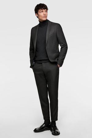 Zara Homme Costumes - Pantalon de costume structuré court