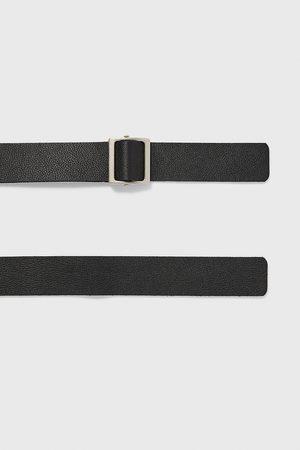 Zara Leather belt with belt loop