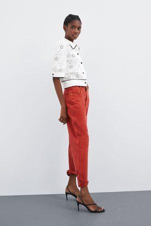Zara Chemise perforée et brodée