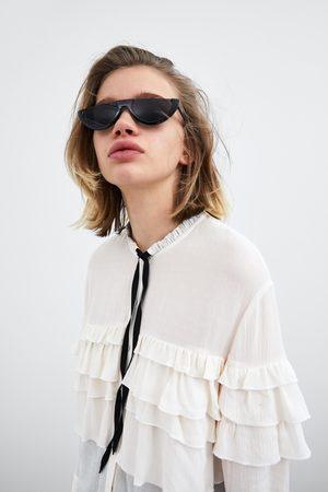 Zara Chemise à volants et nœud