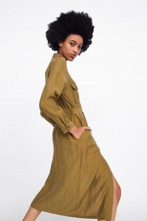 Zara Robe chemise à poches