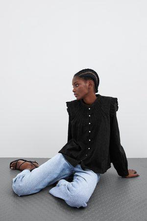 Zara Chemise avec guipure