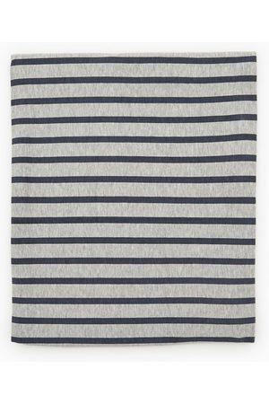 Zara Faux col en coton à rayures