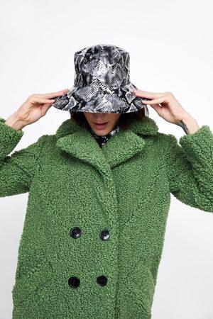 Zara Chapeau de pluie à imprimé animalier