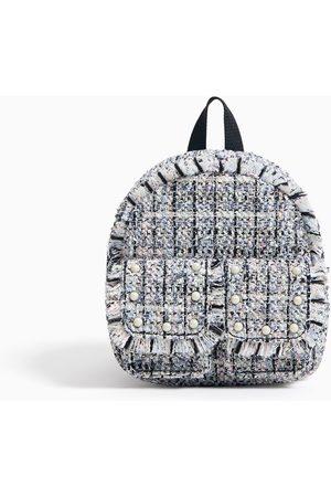 Zara Mini sac à dos en tweed