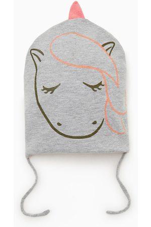 Zara Bonnet réversible licorne