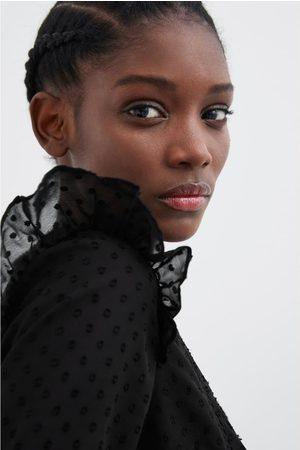 Zara Chemise avec plumetis