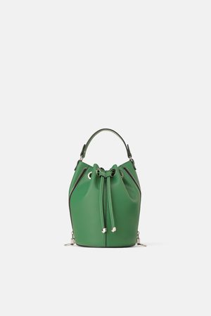 Zara Femme Sacs & Valises - Sac seau avec zips