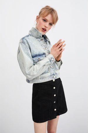 Zara Mini jupe à boutons