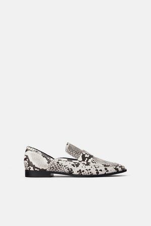 chaussures de séparation 26659 dc0f8 Mocassins à imprimé animalier