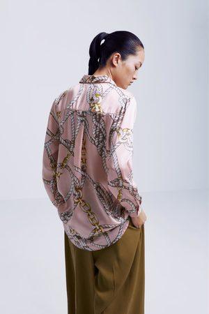 divers styles paquet à la mode et attrayant les mieux notés Chemise à imprimé nœuds