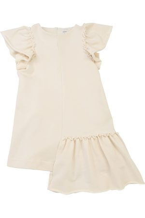 Unlabel Fille Robes longues - Robe Longue En Coton À Volants