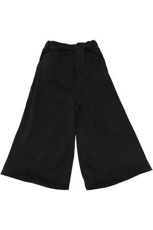 Unlabel Pantalon En Cupro Jambes Larges