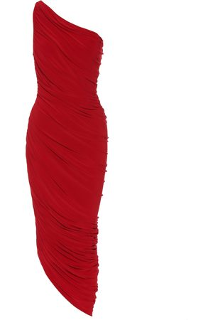 Norma Kamali Robe Diana asymétrique en jersey stretch