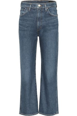 Goldsign Jean flare The Cropped A raccourci à taille haute