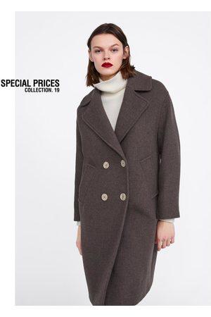 Zara Femme Manteaux - Manteau en tissu fantaisie