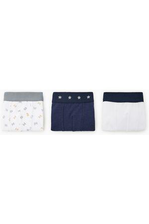 Zara Lot de trois boxers à imprimé lettres