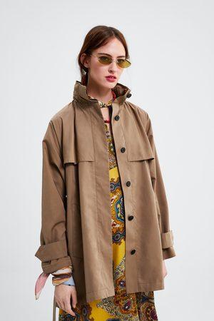 Zara Parka avec capuche et ceinture