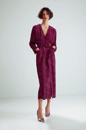 Zara Femme Robes imprimées - Robe imprimée à pois édition limitée