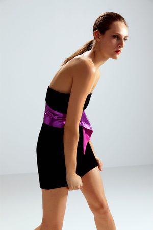 Zara Robe courte avec ceinture édition limitée