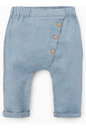 Zara Pantalon portefeuille à boutons