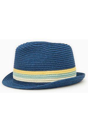 Zara Chapeau de paille à bandes tressées
