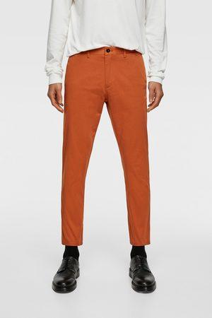 Zara Chinos - Pantalon chino new cropped