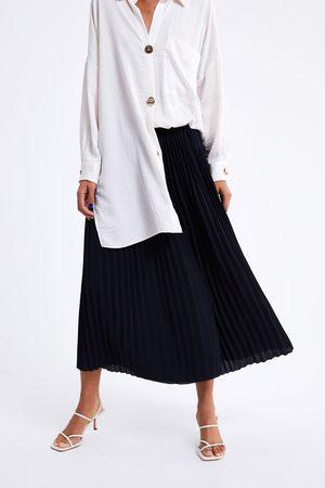 Zara Pantalon plissé large