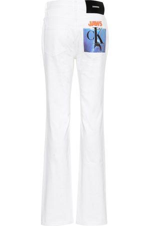 Calvin Klein Jean droit à taille haute