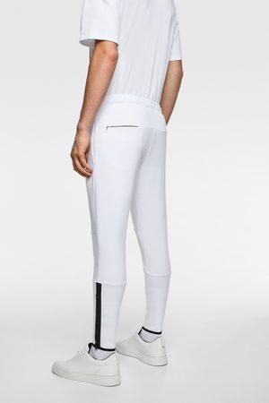 Zara Pantalon de jogging à zips