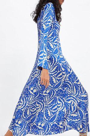 Zara Robe longue imprimée