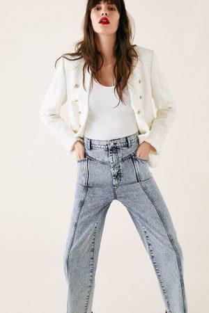 Zara Jean zw premium 80's baggy acid blue
