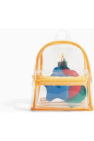 Zara Mini sac à dos en vinyle avec portefeuilles