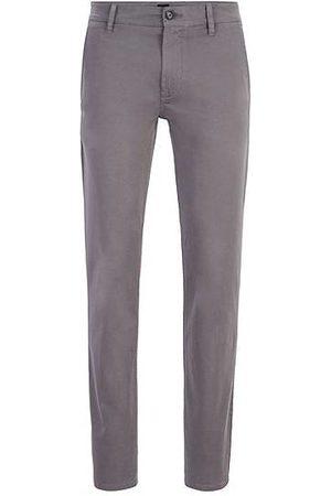 HUGO BOSS Homme Chinos - Chino casual Slim Fit en coton stretch brossé