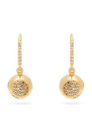 Aurélie Bidermann Boucles d'oreilles en 18 carats et diamants