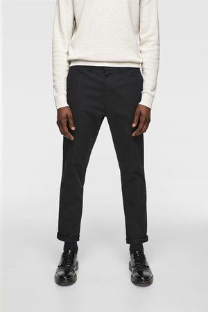 Zara Pantalon chino structuré