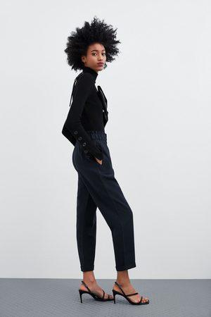 En Pantalons Zara Femme Acheter LigneCompareramp; 0kNnX8wOP