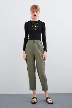 Zara Pantalon fluide