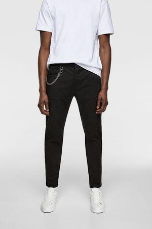 Zara Pantalon skinny avec chaîne
