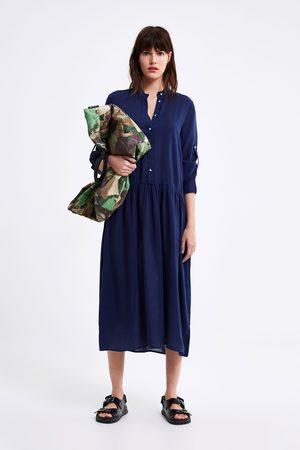Zara Femme Robes longues - Robe longue oversize