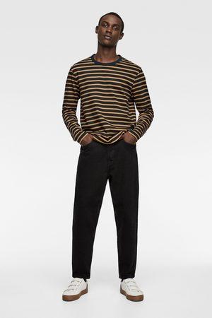Zara Manches longues - T-shirt à rayures et manches longues