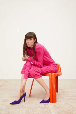 f0a960e3b2a Robes en maille femme des Zara - comparez et achetez