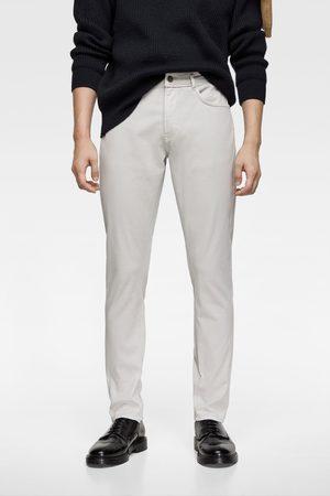Zara Pantalon slim uni