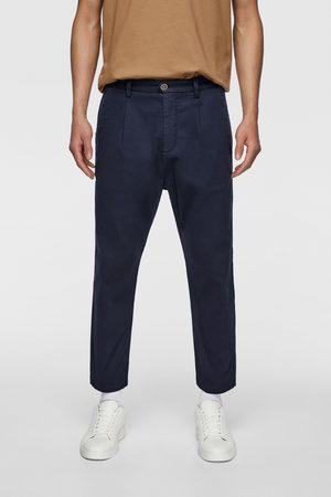 Zara Pantalon chino à plis