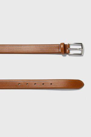 Zara Embossed leather belt