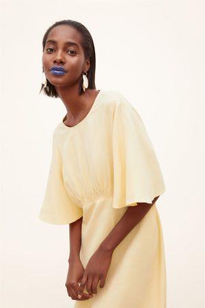 Zara Robe en lin