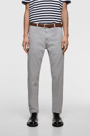 Zara Pantalon chino à ceinture